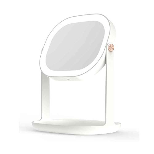 Schönheits-Kosmetikspiegelspray Der Modetischlampe LED, Der Mit Lampendesktopschönheits-Kosmetikspiegel Hydratisiert