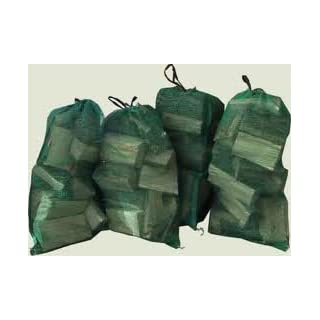 100 x NET BAGS 45cm x 60cm with drawstring. Packing of vegetables, logs, kindling, shellfish etc (GREEN)