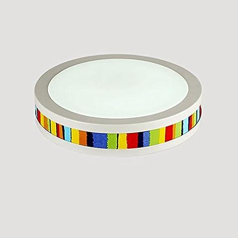 FGSGZ Deckenleuchte Kinder Licht Moderne Innovative Led Runde Choi Hung Weißes Licht 48 * 10Cm