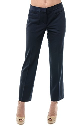 MICHAEL KORS Cropped Flare Hose 26 navy blue