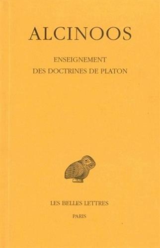 Enseignements des doctrines de  Platon