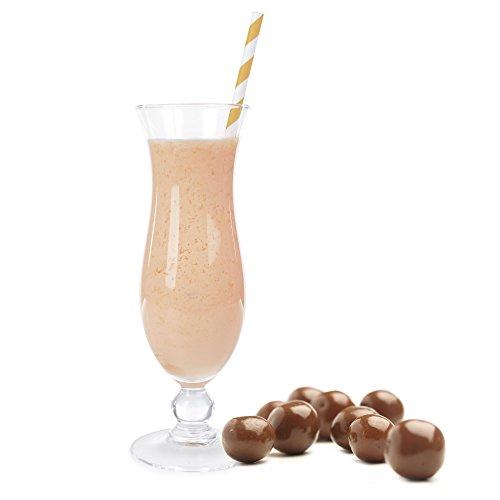 Mozartkugel Geschmack Eiweißpulver Milch Proteinpulver Whey Protein Eiweiß L-Carnitin angereichert Eiweißkonzentrat für Proteinshakes Eiweißshakes Aspartamfrei (1 kg)