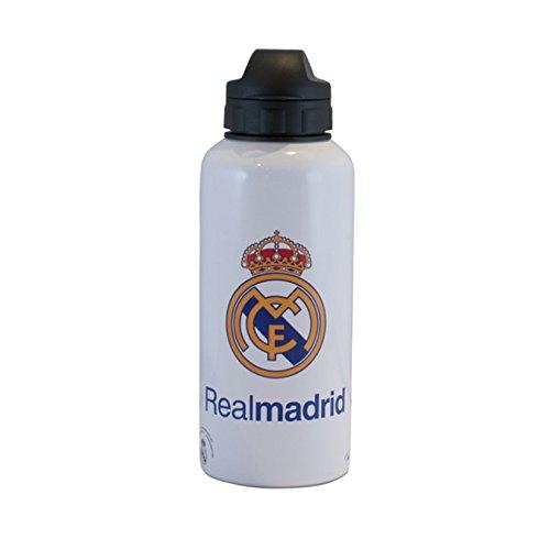 Preisvergleich Produktbild Real Madrid CF offizielle Fußballspieler Metall Wasserflache (Einheitsgröße) (Weiß)