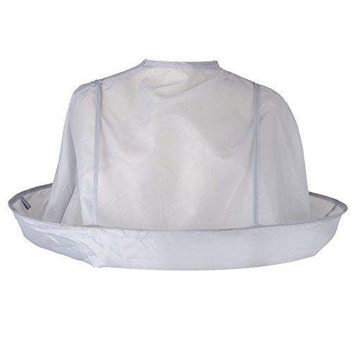 Scopri offerta per Demiawaking - mantellina pieghevole a ombrello per adulti, avvolge e protegge gli abiti durante il taglio di capelli, per saloni di barbieri e parrucchieri