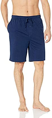 SGNOIEY Men's Sleep Shorts,100% Cotton Knit Sleep Shorts & Lou