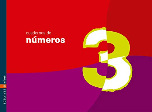 Cuaderno 3 de números (Infantil)