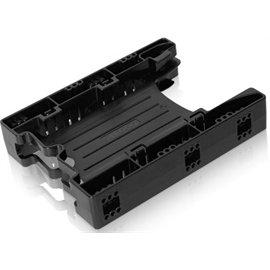 Einbaurahmen für 2 x 2,5 Zoll (6,4cm) SSDs/HDDs in 1 x 3,5 Zoll (8,9cm) - Icy Dock EZ-Fit Light MB290SP-B Ez Montieren