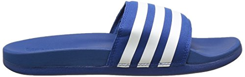 adidas Adilette Supercloud Plus, Chaussons homme Bleu (Equity Blue/White/Equity Blue)