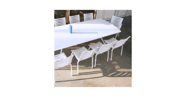 Salon Floris blanc: Amazon.fr: Jardin