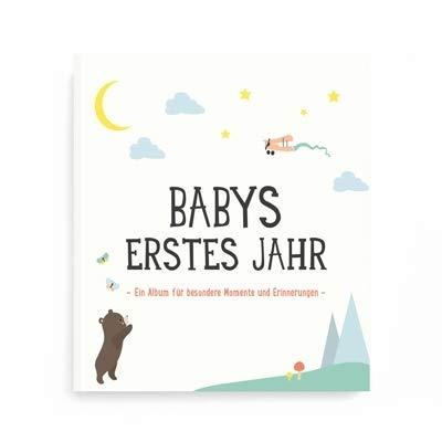 """Milestone FOTOALBUM""""BABYS ERSTES JAHR"""" deutsche Version"""