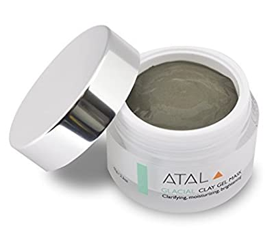 Clay Facial Mask by ATAL – Skin Cleanser and Moisturiser - Reduces Pores, Treats Acne and Problem Skin, Exfoliates, Anti Ageing Benefits - Natural Ingredients - Unique Canadian Glacial Marine Clay by ATAL Skin Solutions