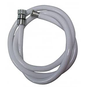 Expert by net - Flexible et douchette - Flexible douche blanc longueur 1500mm