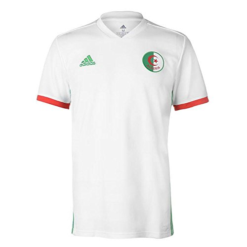 adidas BQ4516 Maillot Mixte Enfant, Blanc/Seflli/Rouge, FR : XS (Taille Fabricant : 164)