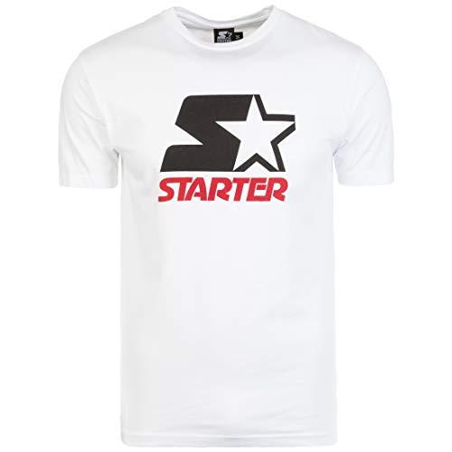 Starter Charles T-Shirt Herren weiß/schwarz, L