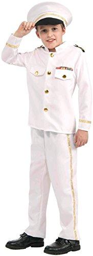Admiral Costume, Large (Navy Admiral Kind Kostüme)