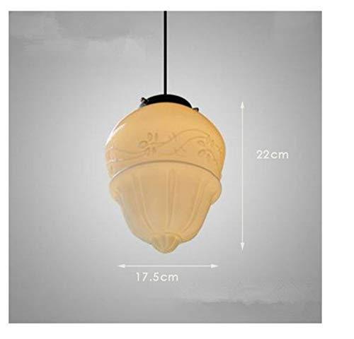 Lampen Pendelleuchte Deckenleuchte Hängelampe Deckenlampe Deco Pendelleuchte Esszimmer Vintage Milchglas Pendelleuchte Weißes Glas Pendelleuchte Nordische Beleuchtung