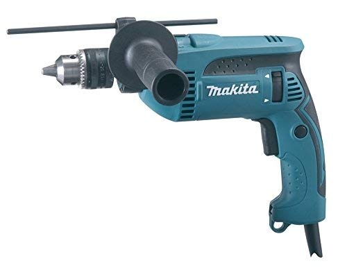 Makita HP1640 Taladro Percut. 13Mm 680W Llav, 680 W, 240 V, Multicolor