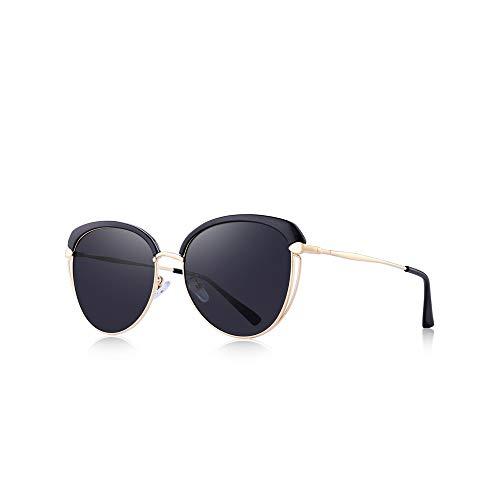 WJFDSGYG Frauen Cat Eye Polarized Sonnenbrillen Ladies Fashion Trending Sonnenbrillen Uv400 Schutz