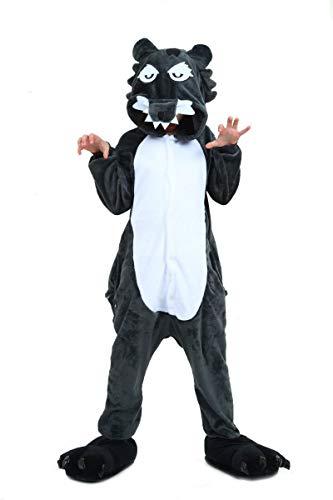 Tuopuda Kinder Pyjamas Tier Schlafanzug Jumpsuit Nachtwäsche Unisex Cosplay Kostüm für Mädchen und Jungen Halloween Karneval Fasching (Lustige Halloween-kostüme Kleine Mädchen)