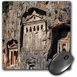 Lycian Rock (Taiche - Photography - Turkey - Lycian Tombs Cut From Rock Circa 400 BC - MousePad (mp_214072_1))