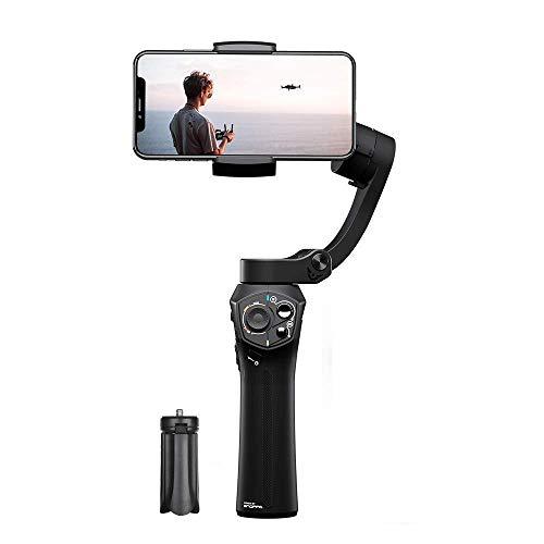 SNOPPA Atom Gimbal 3 Achsen Stabilisator für GoPro Hero 4 5 6 Smartphone, kabellos, integrierter Mikrofonanschluss, 24 Stunden Akkulaufzeit -