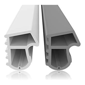 Profil dangle descalier 135cm argent * Antid/érapant * Robuste * Montage facile profil descalier en aluminium 22x30mm acerto 51045 Profil dangle descalier en aluminium