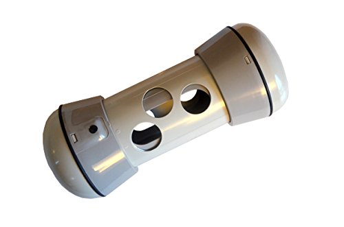 pipolino-l + Beige y gris pardo dispensador Mobile de pienso para el bienestar y salud de los Perros