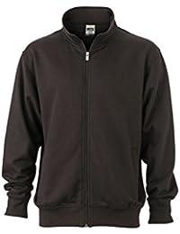 JAMES & NICHOLSON Sweat veste avec col montant et zip