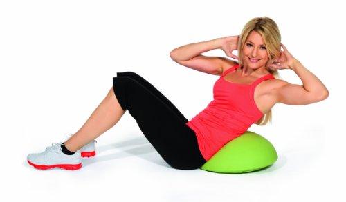 Topstar SH17BB0 Fitness-Hocker Sitness Half Ball /Stoffbezug, schwarz - 6