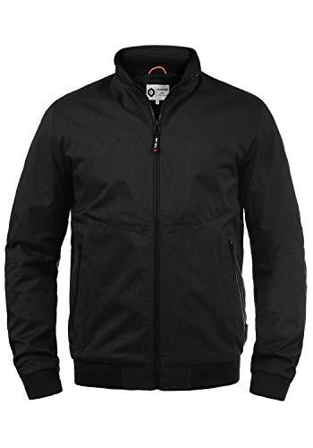 JACK & JONES Core Julian Herren Übergangsjacke Herrenjacke Jacke gefüttert mit Stehkragen, Größe:XXL, Farbe:Black