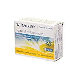 Natracare Tampons - Regular - 10 Pack Natracare Tampons - Regular - 10 Pack