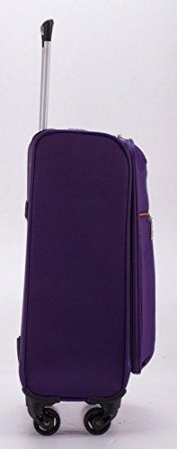 HAUPTSTADTKOFFER® 33 Liter (ca. 50 x 35 x 19 cm) Weichgepäck · Handgepäck · MITTE LIGHT · in verschiedenen Farben (Lila) Lila