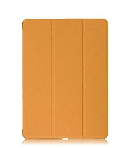 KHOMO Funda iPad Air 1 - Carcasa Naranja Protectora Ultra Delgada y Ligéra con Smart Cover y Soporte para Apple iPad Air 1 - Dual Orange