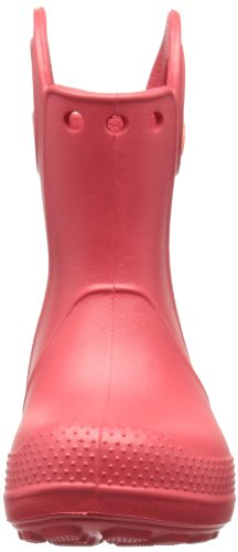 Crocs Handle It Rain Boot 12803 Unisex - Kinder Kurzschaft Gummistiefel Rot (Red)