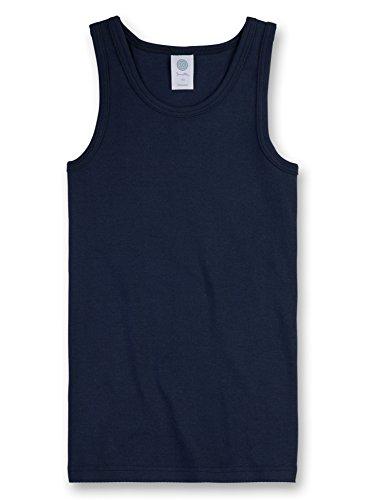 Sanetta Jungen Unterhemd 300000, Blau (Neptun 50226), 164 (Unterhemd Jungen)