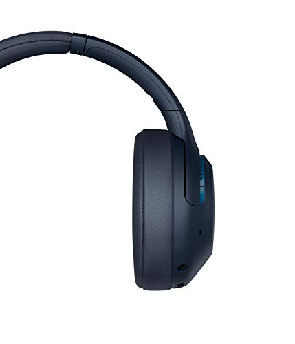 Sony WH-XB900N Bluetooth Noise Cancelling Kopfhörer (Extra Bass,30h Akku, Amazon Alexa & Google Assistant, Gestensteuerung) Blau - 12