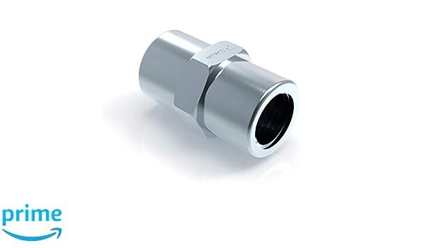 10x Verschraubung M10 x 1 f/ür Bremsleitung 4,75 mm B/ördel E Typ E Profi Verbinder DIN//ISO 1651 konform