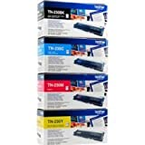Brother BRBUNDLE2 BRTN230SET Original Toner, schwarz/cyan/magenta/gelb