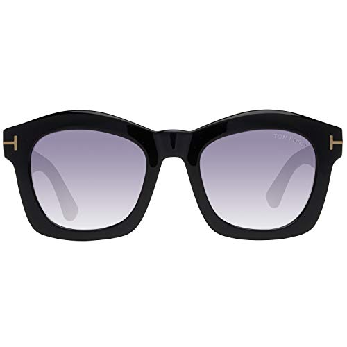 Tom Ford Damen FT0431 01Z 50 Sonnenbrille, Schwarz