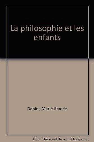 LA PHILOSOPHIE ET LES ENFANTS : les modèles de Lipman et de Dewey