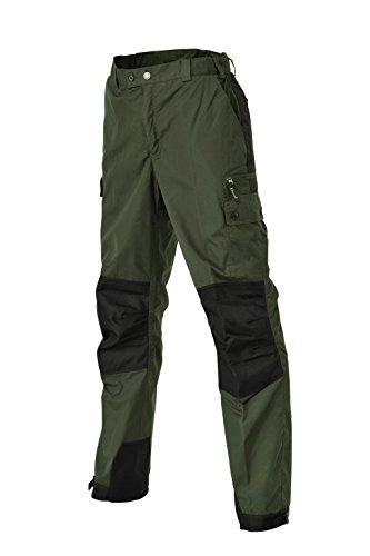 Pinewood Herren Lappland Extrem Hose Langgröße Outdoorhose, Dunkelgrün/Schwarz, C154