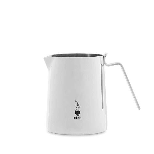 Bialetti nuovo elegance 75cl milk pitcher 75 cl, bollilatte, acciaio, inox, argento