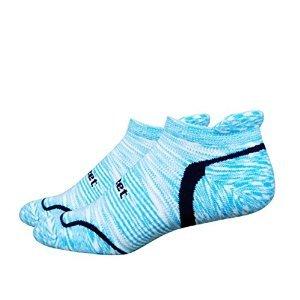 DeFeet d-evo gestromt Groovy Socken xl blau / marineblau (Defeet Blau Socken)