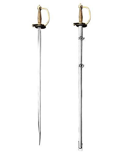 Supreme Replicas Handgeschmiedeter Unteroffizier Degen Modell 1840 - Schwert aus hochwertigem Karbonstahl