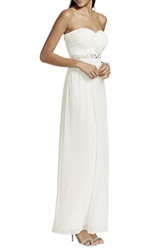 Missdressy - Robe - Crayon - Femme Blanc - blanc