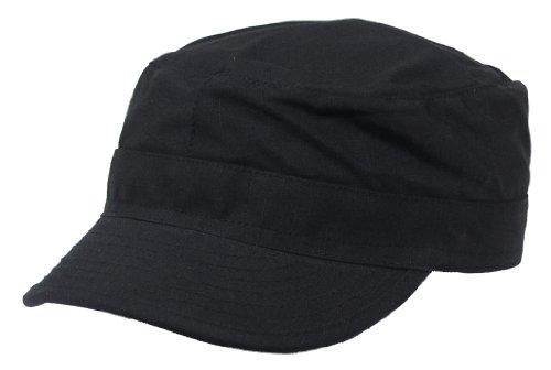 MFH Feldmütze US BDU Rip Stop, schwarz, XL, 10213A