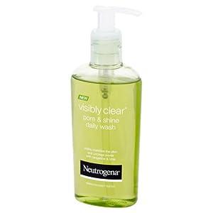 3170fJjvmRL. SS300  - Neutrogena-Visibly-Clear-Pore-Shine-Daily-Wash-Gel-Facial-200-ml