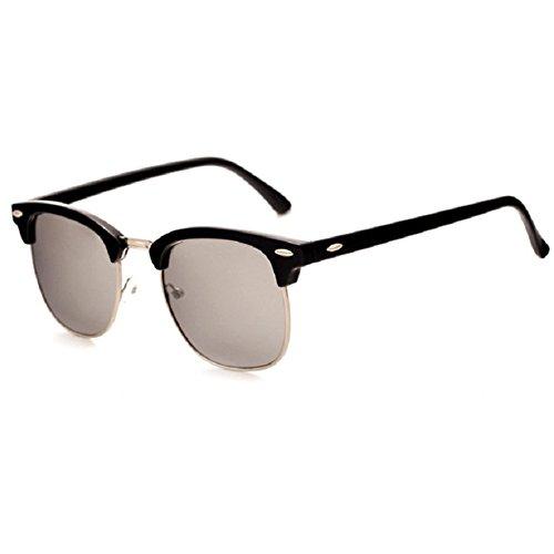 o-c-unisex-adulto-classical-fashion-occhiali-da-sole-50-mm-black-framewhite-lens