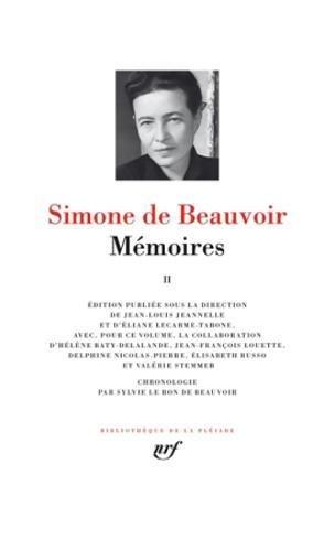 Mémoires (Tome 2) par Simone de Beauvoir