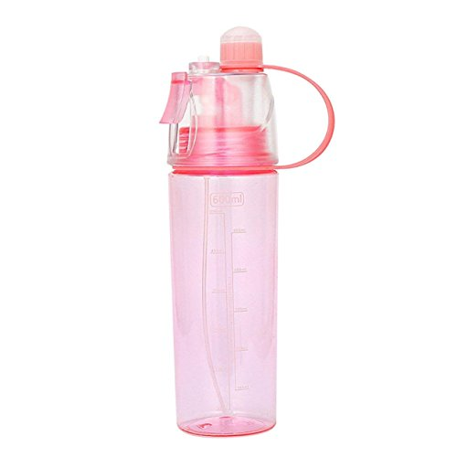 VJK Sporter Water Bottle with Spray Function, Sport Spray Water Bottle Travel, Drink Bottle for Cycling, Driving, Climbing & Much More 600ml -
